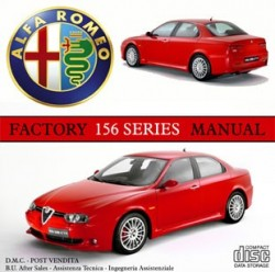 ALFA ROMEO 156 series Factory workshop technical