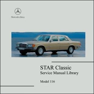 Mercedes Benz 116 workshop manual Sclass W116 280s 280se sel