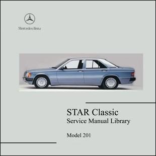Mercedes Benz 201 workshop manual 190 D E turbo COSWORTH W 201