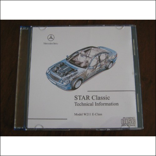 Mercedes Benz 211 E-class Technical information manual w 211