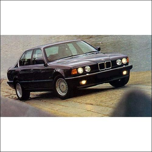 BMW Series 7 E32 E38 E65 Workshop Manual 728 730 735 740 750