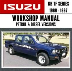 Isuzu KB TF Car Workshop Repair Service Manual 1989 - 1997