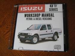 Isuzu KB TF Car Workshop Repair Service Manual 1998 - 2002