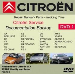 Citroen workshop manual C15 C2 C3 C4 Picasso C5 C6 C8
