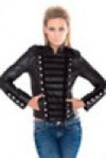 Ladies Military Leather Jackets