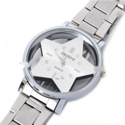 DayBird Stainless Steel Quartz Wrist Watch - Silver
