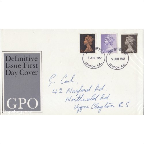 GREAT BRITAIN COVER